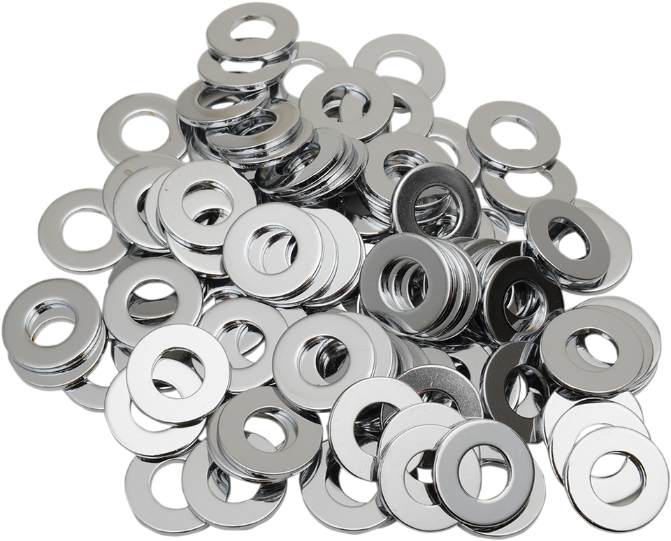 "5/16"" Chrome Flat Washer - Lutzka's Garage"