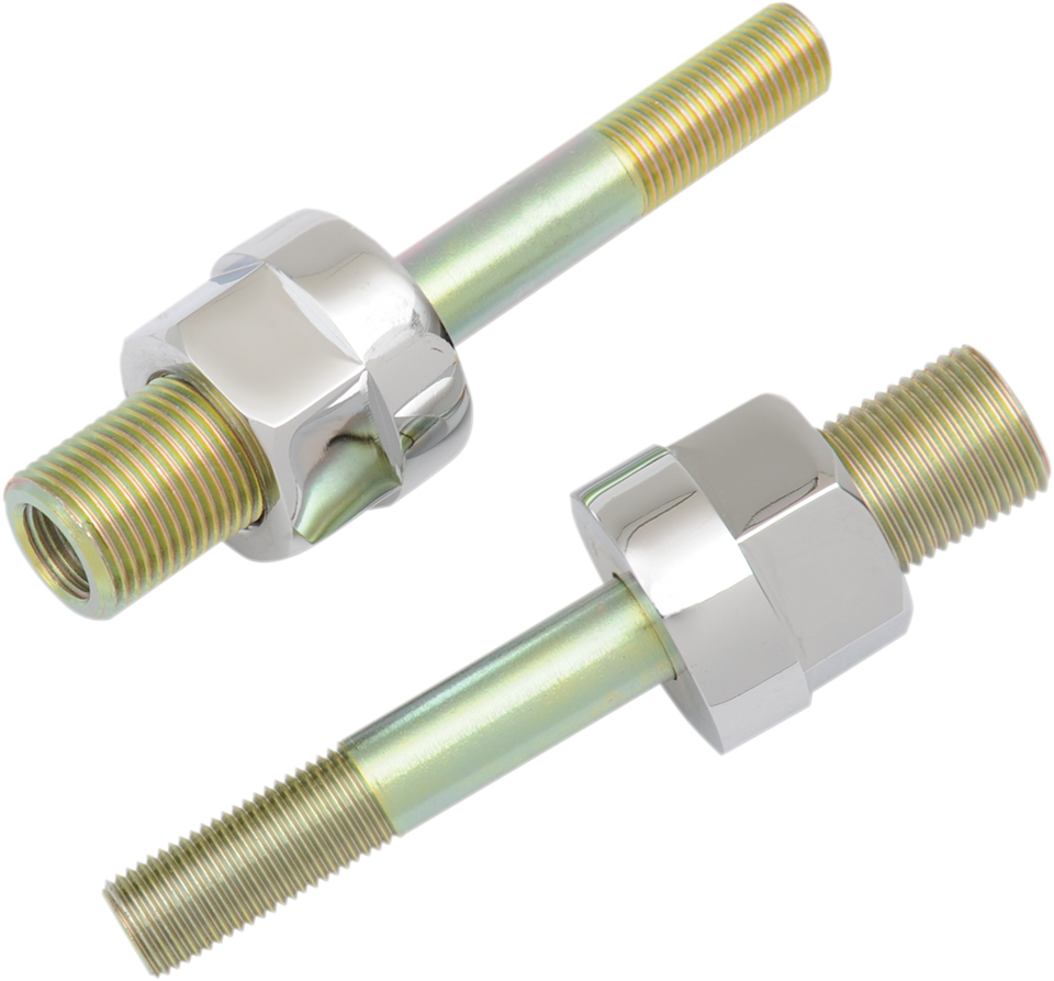 "Adjustable Shock Lowering Kit - Chrome/Gold Anodized Finish - Lowers 0""- 1.25"" - Lutzka's Garage"