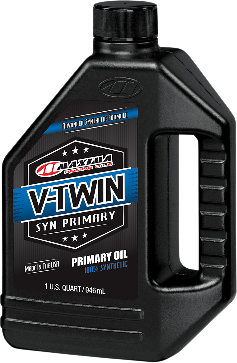 V-Twin Synthetic Primary Oil - 1 US quart - Lutzka's Garage