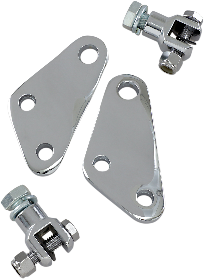 Passenger Footpeg Mount - With Clevis - Lutzka's Garage