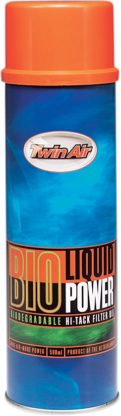 Bio Liquid Power Filter Oil - Aerosol - Lutzka's Garage