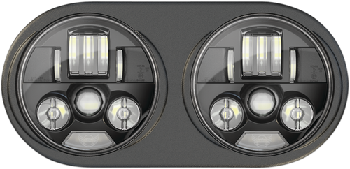 ProBeam® LED Headlamps - FLTR - Black - Lutzka's Garage