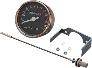 "3-1/8"" Dash Mount Speedometer - Lutzka's Garage"