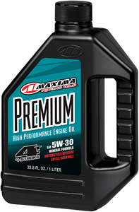 Premium High Performance Mineral 4T Engine Oil - 5W30 - 1 L - Lutzka's Garage