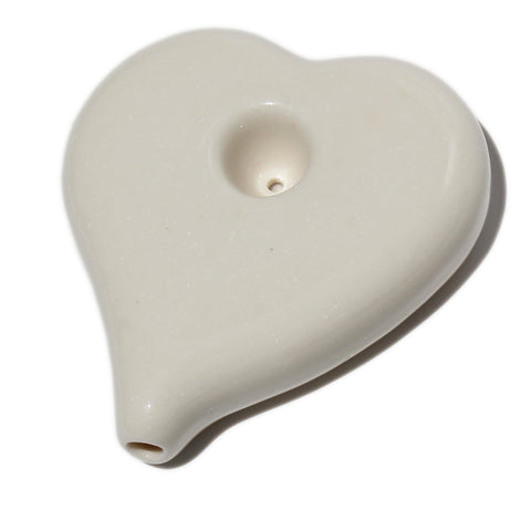 Porcelain Heart Pipe
