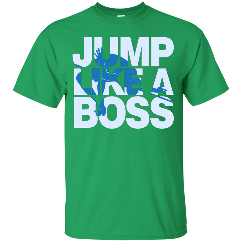 Jump Like A Boss Youth Boys High Jump T-Shirt