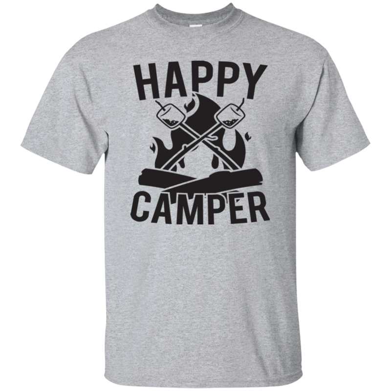 Happy Camper Campfire T-Shirt