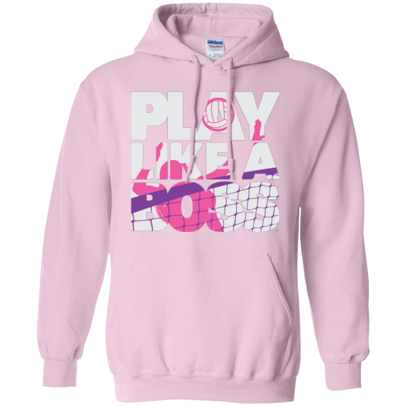 Play Like a Boss™ Women's Volleyball Hoodie
