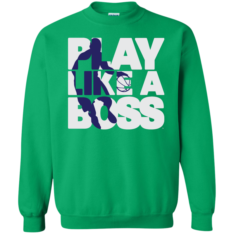 Men's Basketball Play Like A Boss™ Pullover Sweatshirt