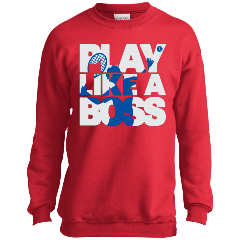 Play Like A Boss™ Youth Tennis Sweatshirt