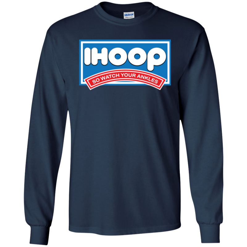 IHOOP Basketball Parody Unisex LS T-Shirt