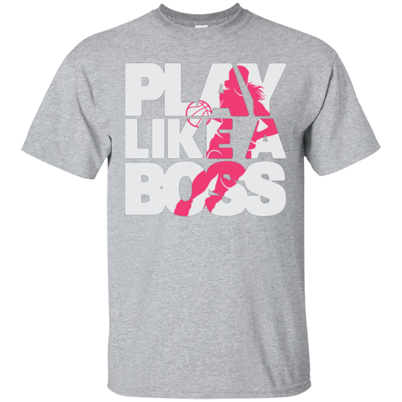 Women's Basketball Play Like A Boss™ Unisex T-Shirt