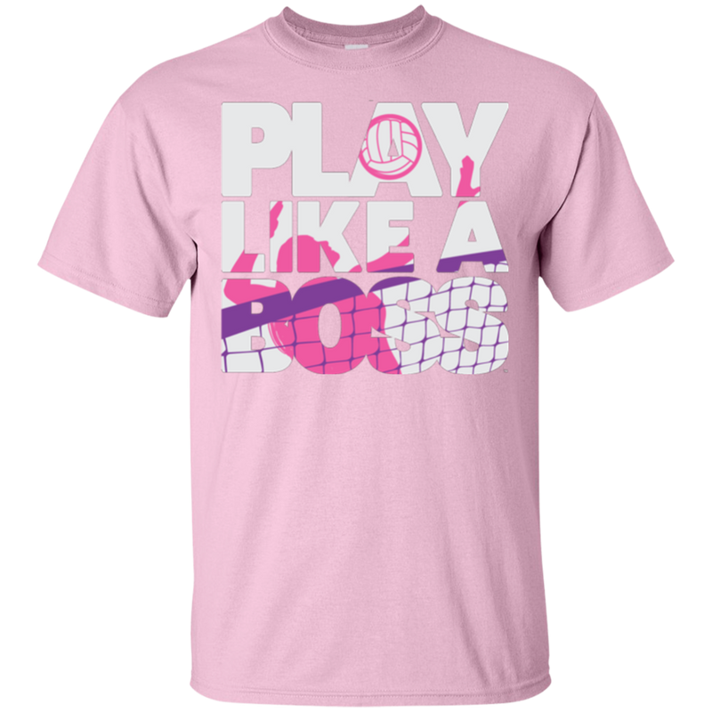 Play Like a Boss™ Youth Girls Volleyball T-Shirt