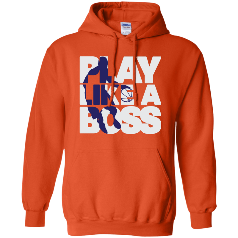Men's Basketball Play Like A Boss™ Pullover Hoodie