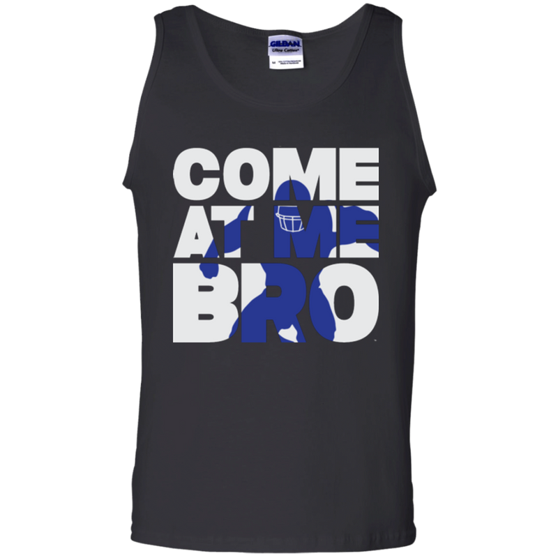 Come At Me Bro' Men's Football Tank Top
