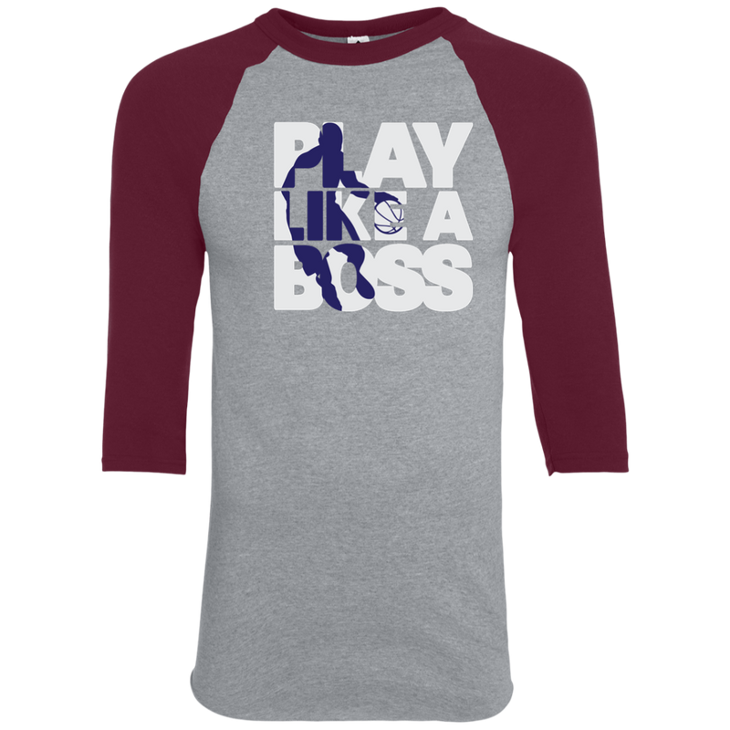 Men's Basketball Play Like A Boss™ Raglan T-Shirt
