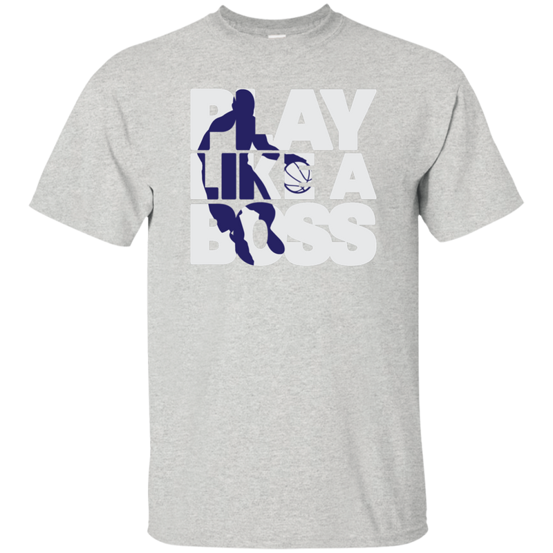 Youth Boys Basketball Play Like A Boss™  T-Shirt