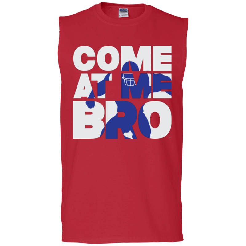 Come At Me Bro' Men's Football Sleeveless T-Shirt