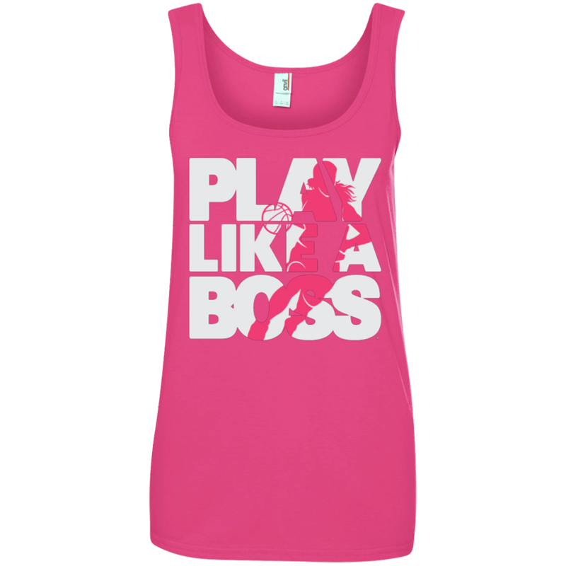 Women's Basketball Play Like A Boss™ Tank