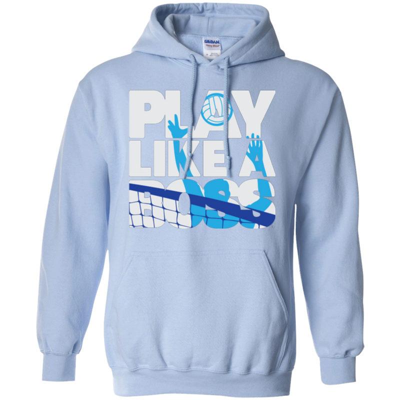 Play Like A Boss™ Men's Volleyball Hoodie