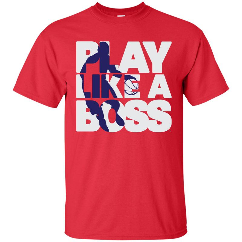 Men's Basketball Play Like A Boss™ T-Shirt