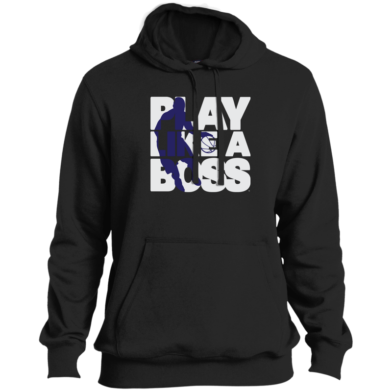 Tall Men's Basketball Play Like A Boss™ Pullover Hoodie