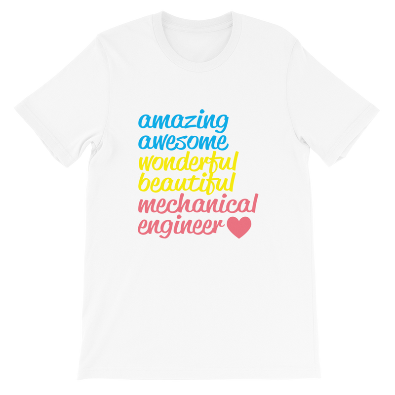 Amazing Awesome Wonderful Mechanical Engineer T shirt