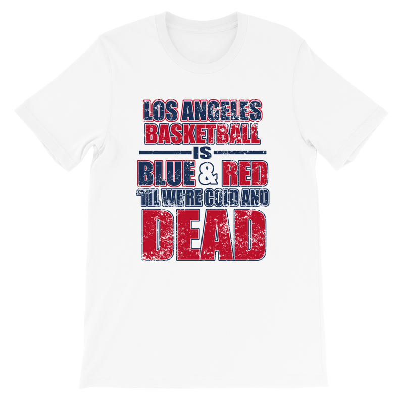 Los Angeles Basketball Is Blue & Red Tshirt