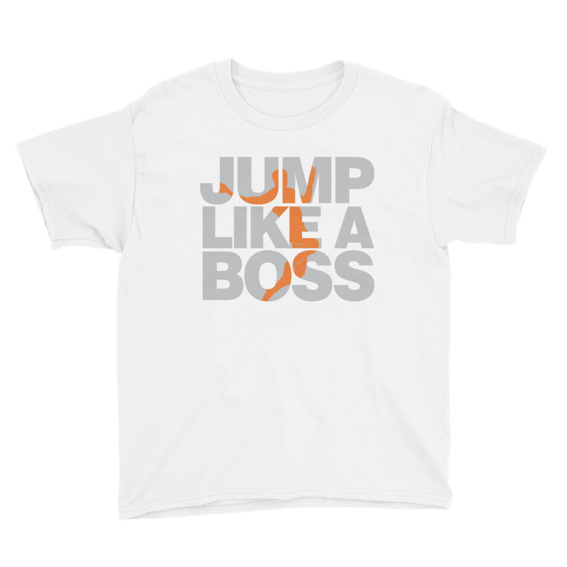 Youth Boys Long Jump Like A Boss T-Shirt