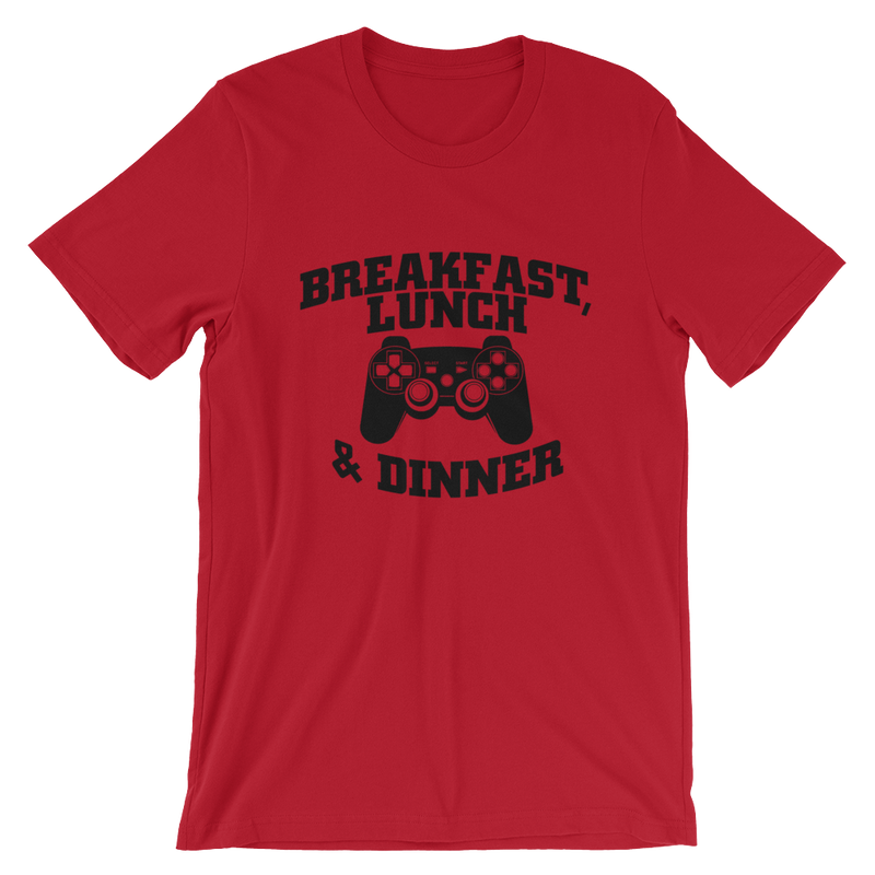 Breakfast Lunch & Dinner Tshirt