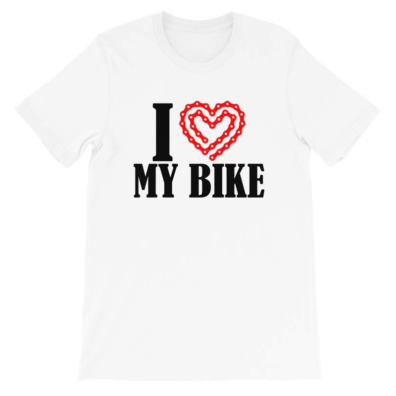 I Love My Bike Tshirt