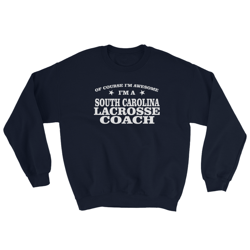 South Carolina Lacrosse Coach Sweatshirt