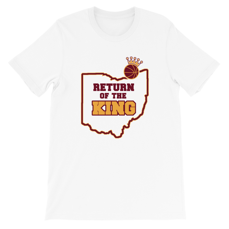 Return of the King Basketball Tshirt