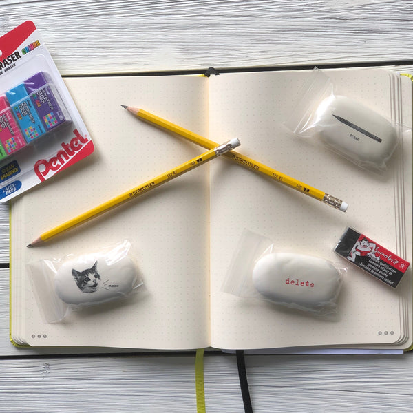Erasers, Sharpeners & Accessories