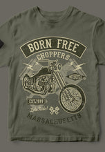 Born Free Chopper Tee