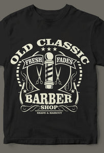 Old Classic Barber Tee