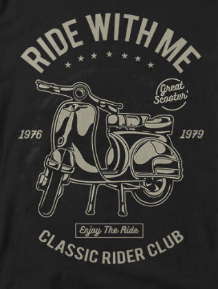Ride With Me Tee
