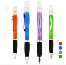 Load image into Gallery viewer, Ballpoint Pen,Hand Sanitizer Spray Ball Pen With Rubber Grip,