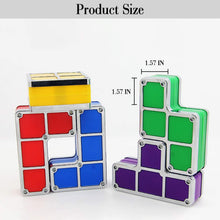 Load image into Gallery viewer, Tetris Stackable Puzzles Toy Light Lamp (Multi-Color) - Coral Tree