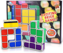 Load image into Gallery viewer, Tetris Stackable Puzzles Toy Light Lamp (Multi-Color)