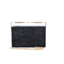 Load image into Gallery viewer, Coral Tree Designer Velvet Box Clutch Crossbody Sling Bag With Metal Specks - Coral Tree