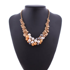 Multicolour Beads Necklace - Coral Tree