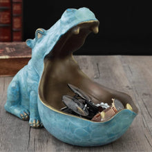 Load image into Gallery viewer, Hippopotamus Statue Decoration Resin Artware Sculpture Statue