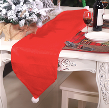 Load image into Gallery viewer, CORAL TREE Christmas 3D Santa Claus Table Runner Dining Table Decoration (RED) - Coral Tree