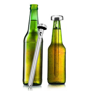 2 Pieces Beer Chiller Sticks for Bottles - Coral Tree