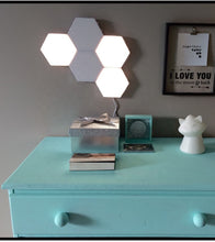 Load image into Gallery viewer, Quantum Touch Sensitive Light, Modular Hexagon Panel Lamp