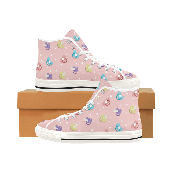 Pink Pacifiers DDLG High Top Canvas Women Shoes