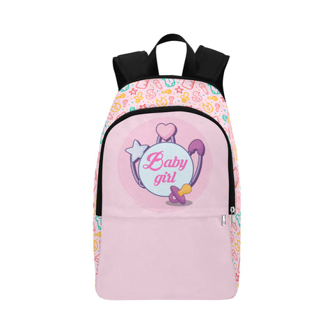 Baby Girl Pacifier DDLG Pink Backpack