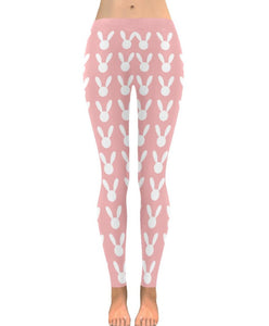 Bunny Cute DDlg Pink Leggings