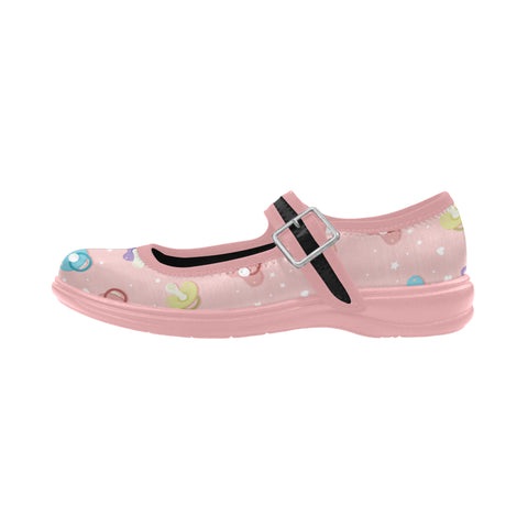 DDLG Pacifier Pink Flat Shoes